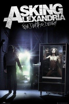 plakat ASKING ALEXANDRIA - FROM DEATH TO DESTINY