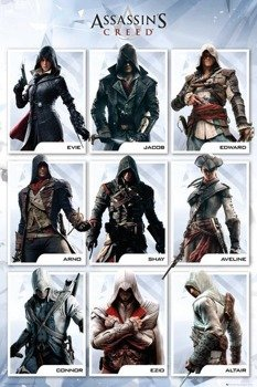 plakat ASSASSINS CREED - COMPILATION