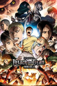 plakat ATTACK ON TITAN - SEASON 2 COLLAGE