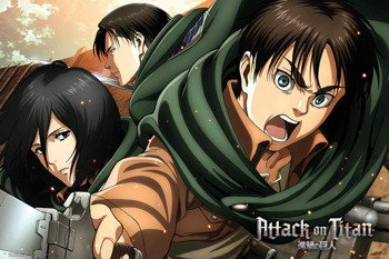 plakat ATTACK ON TITAN - SEASON 2 SCOUTS