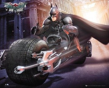 plakat BATMAN THE DARK KNIGHT RISES - BIKE