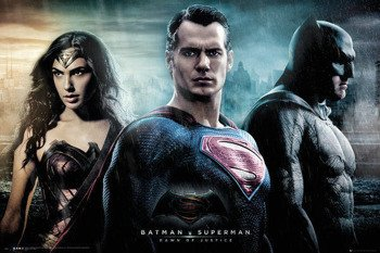 plakat BATMAN VS SUPERMAN - CITY