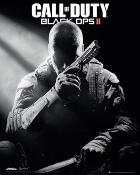 plakat CALL OF DUTY BLACK OPS II - COVER