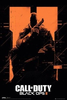 plakat CALL OF DUTY BLACK OPS II - ORANGE
