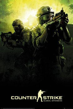 plakat COUNTER STRIKE - TEAM