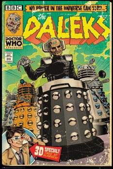 plakat DOCTOR WHO - DALEKS COMIC
