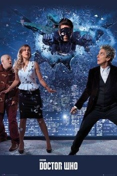 plakat DOCTOR WHO - XMASS ICONIC 2016