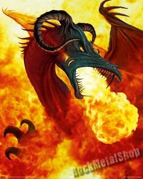 plakat FIRE DRAGON