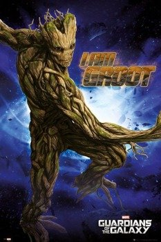 plakat GUARDIANS OF THE GALAXY - GROOT