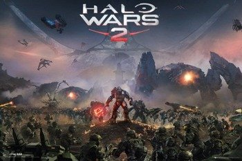 plakat HALO WARS 2 - KEY ART
