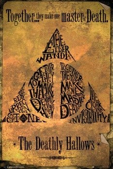 plakat HARRY POTTER - DEADLY HALLOWS