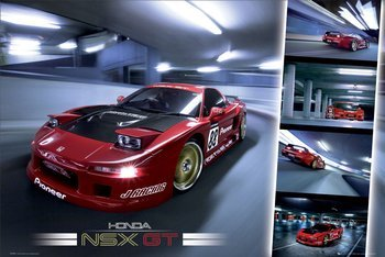 plakat HONDA NSX -GT
