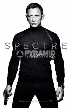 plakat JAMES BOND - SPECTRE (BLACK AND WHITE)