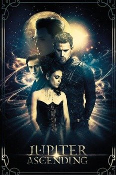 plakat JUPITER ASCENDING - COLLAGE