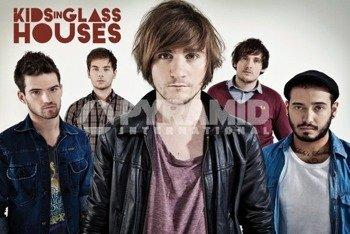 plakat KIDS IN GLASS HOUSES - DIRT