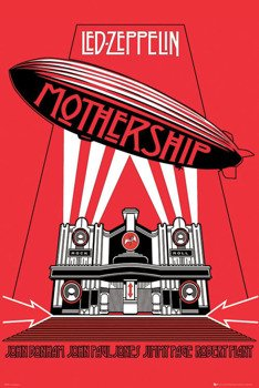 plakat LED ZEPPELIN - MOTHERSHIP