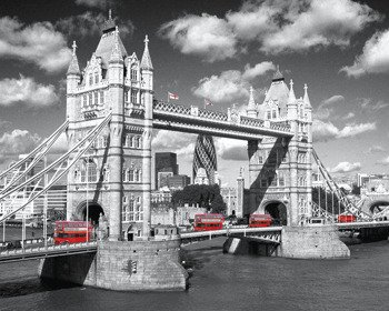 plakat LONDON - TOWER BRIDGE