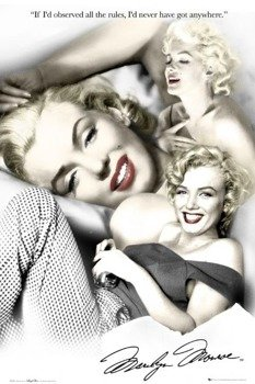 plakat MARILYN MONROE - RULES