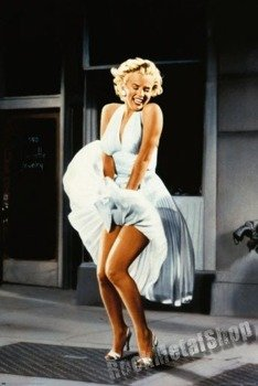 plakat MARILYN MONROE - SEVEN YEAR ITCH