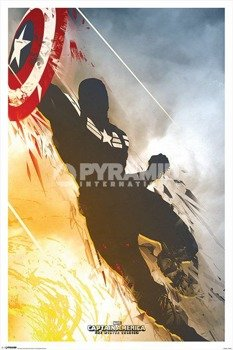 plakat MARVEL - CAPTAIN AMERICA - WINTER SOLDIER