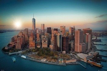plakat NEW YORK - FREEDOM TOWER MANHATTAN