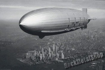 plakat NEW YORK - ZEPPELIN