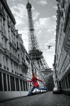plakat PARIS - SKIPPING GIRL