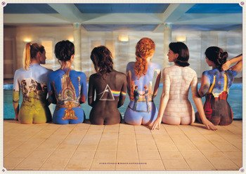 plakat PINK FLOYD - BACK CATALOGUE