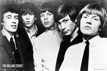 plakat ROLLING STONES - GROUP