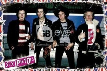 plakat SEX PISTOLS - BAND