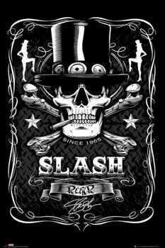 plakat SLASH - LABEL