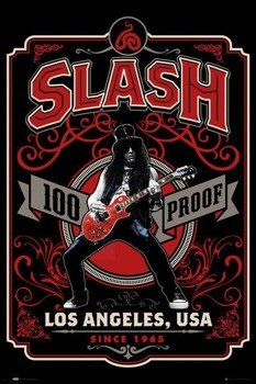 plakat SLASH - WHISKEY LABEL
