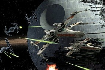 plakat STAR WARS - DEATH STAR BATTLE