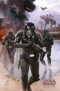 plakat STAR WARS - DEATH TROOPER BEACH