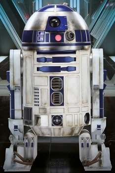 plakat STAR WARS - R2D2