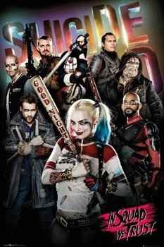 plakat SUICIDE SQUAD - IN SQUAD WE TRUST