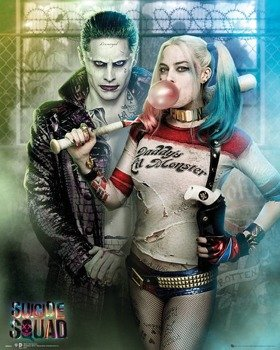 plakat SUICIDE SQUAD - JOKER AND HARLEY QUINN