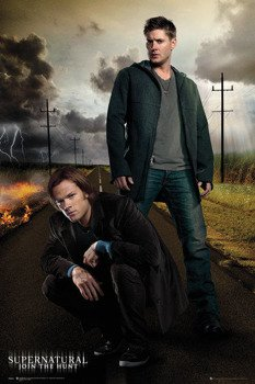 plakat SUPERNATURAL - SAM AND DEAN
