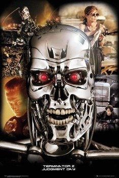 plakat TERMINATOR 2  - COLLAGE
