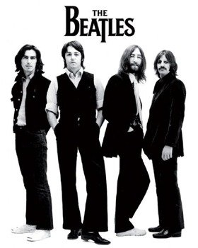 plakat THE BEATLES - WHITE