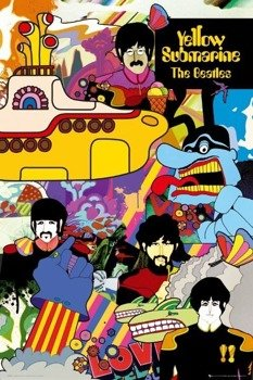plakat THE BEATLES - YELLOW SUBMARINE
