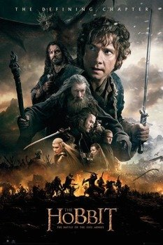 plakat THE HOBBIT - BATTLE OF FIVE ARMIES FIRE
