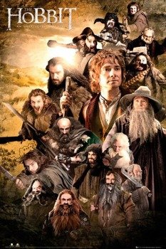 plakat THE HOBBIT - CHARACTERS