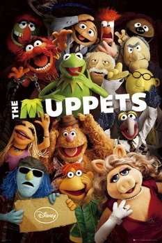 plakat THE MUPPETS - TEASER
