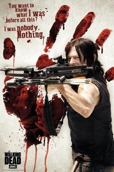 plakat THE WALKING DEAD - BLOODY HAND DARYL