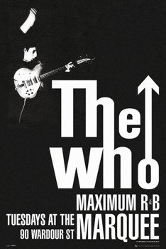 plakat THE WHO - MAXIMUM R&B