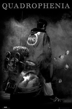 plakat THE WHO - QUADROPHENIA
