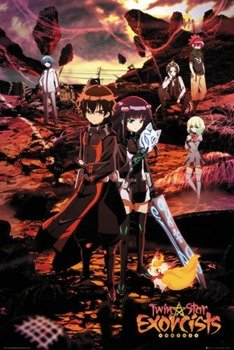 plakat TWIN STAR EXORCISTS - KEY ART