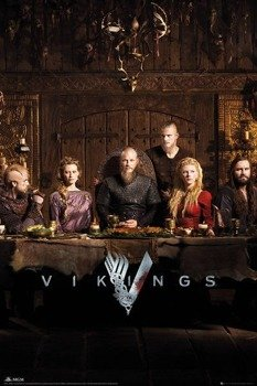plakat VIKINGS - TABLE