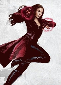 plakat z metalu MARVEL - CIVIL WAR - SCARLET WITCH